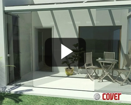 IDEAterrazas Glass Curtains Video