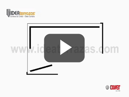 IDEAterrazas Glass Curtains Possible Configuration Video