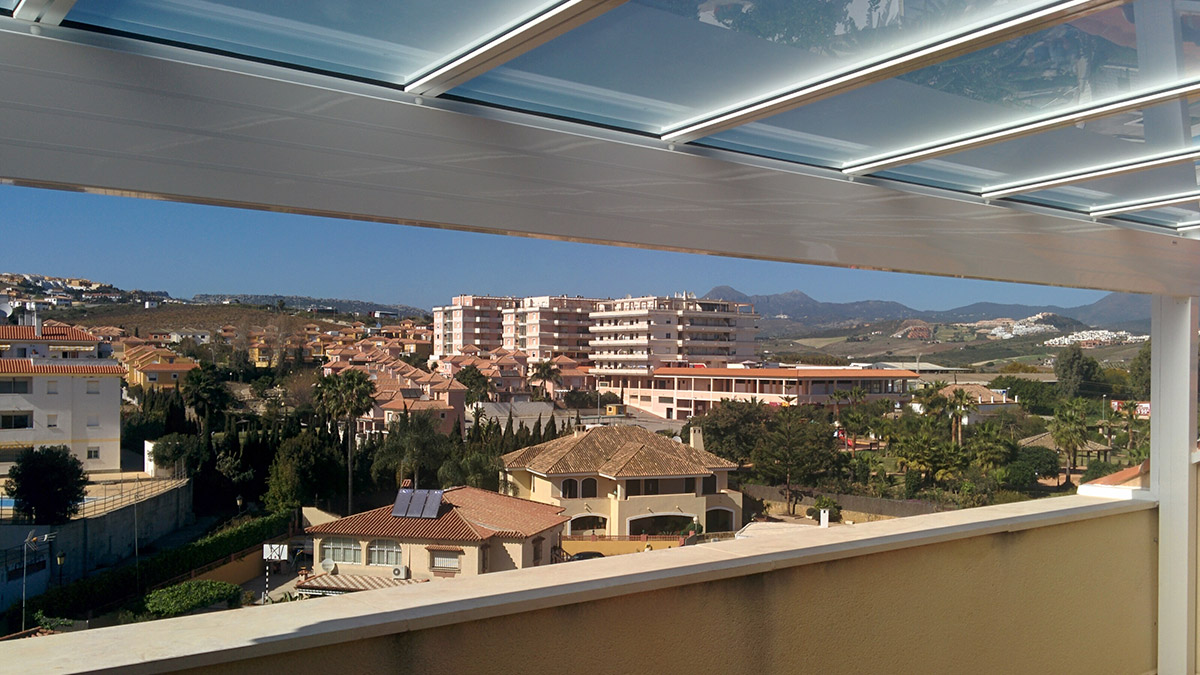 Roofs Glass Curtains Malaga Spain For Terraces Ideaterrazas