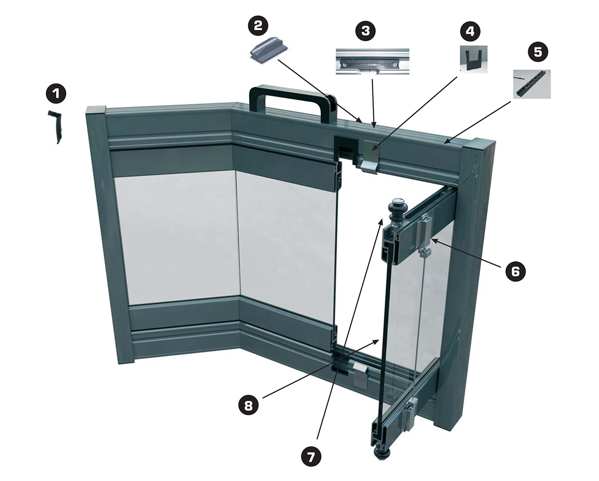 Cover Glass Curtains User Instructions Costa del Sol