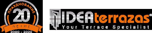 Стеклянные шторы Малага для террас | IDEAterrazas Logo