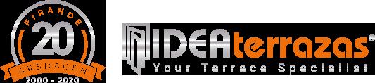 Glas Gardiner Malaga Spanien för terrasser | IDEAterrazas Logo
